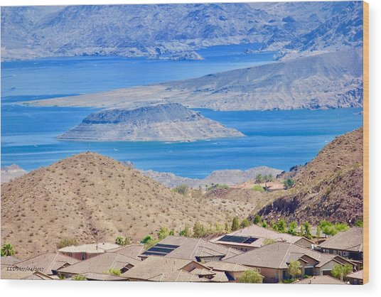 Lake Mead Wood Print