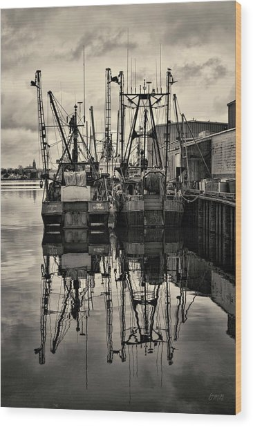 New Bedford Waterfront No. 1 Wood Print
