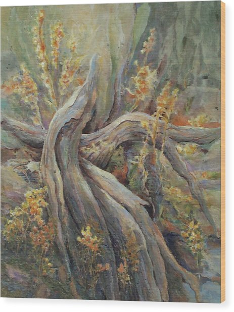 New Beginnings Wood Print by Don Trout