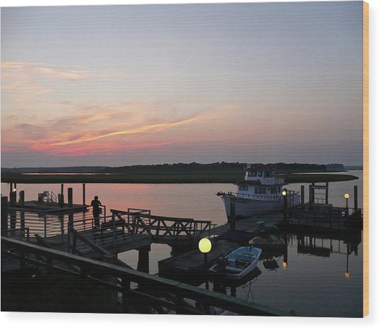 New Bern Reverie Wood Print
