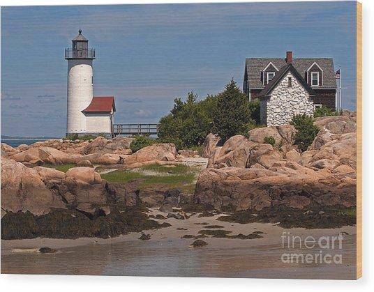 New England Light Wood Print
