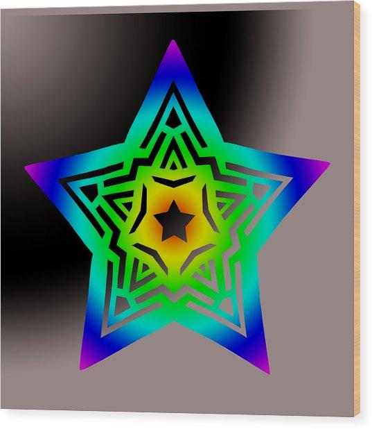 New Star 1b Wood Print