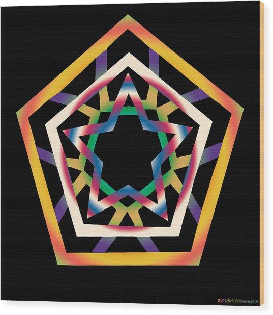 New Star 4b Wood Print