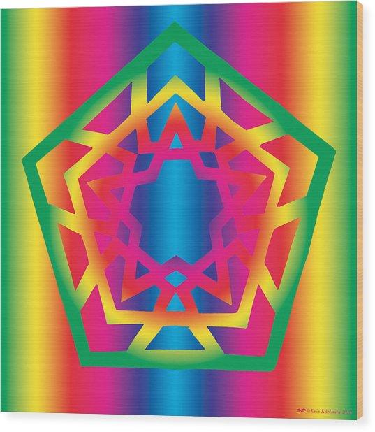New Star 4f Wood Print