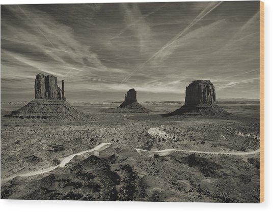 Monument Valley 9 Wood Print