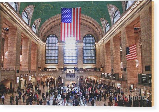 New York - Grand Central Terminal Wood Print