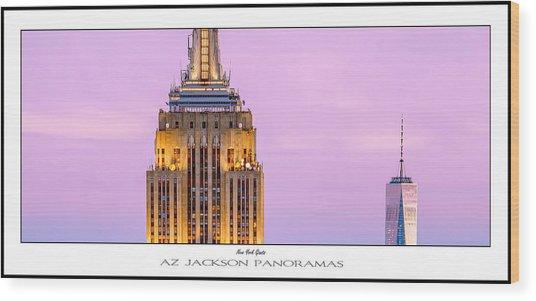 New York Giants Poster Print Wood Print
