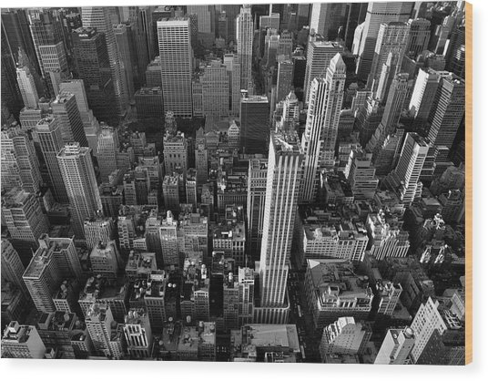 New York, New York 5 Wood Print