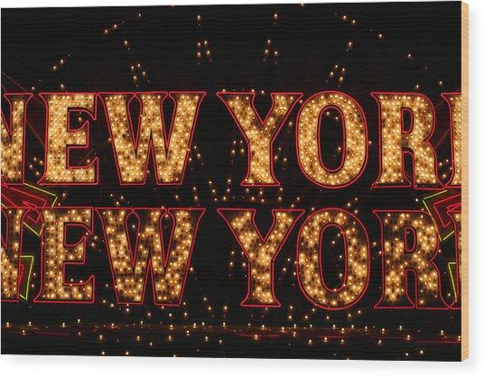 New York New York Wood Print by Jason Williams