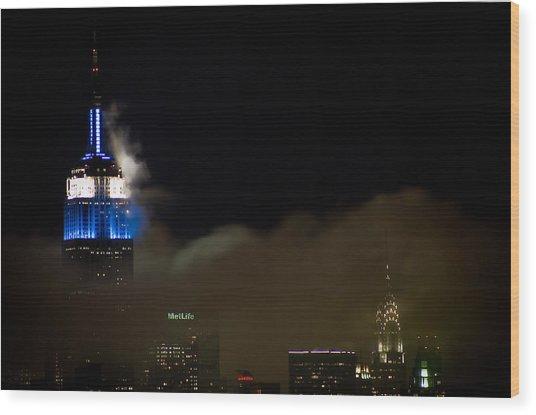 New York Wood Print by Patrick  Flynn