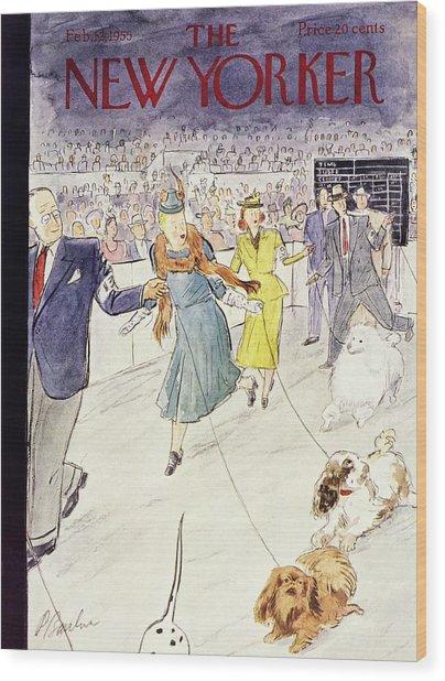 New Yorker February 12 1955 Wood Print