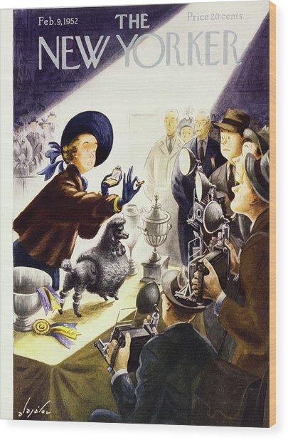 New Yorker February 9 1952 Wood Print
