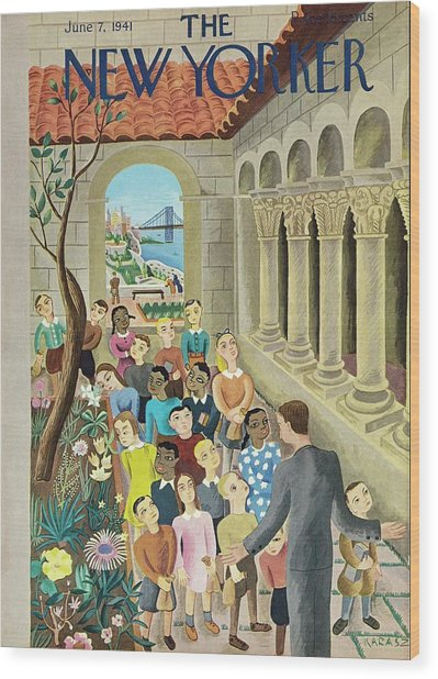 New Yorker June 7 1941 Wood Print