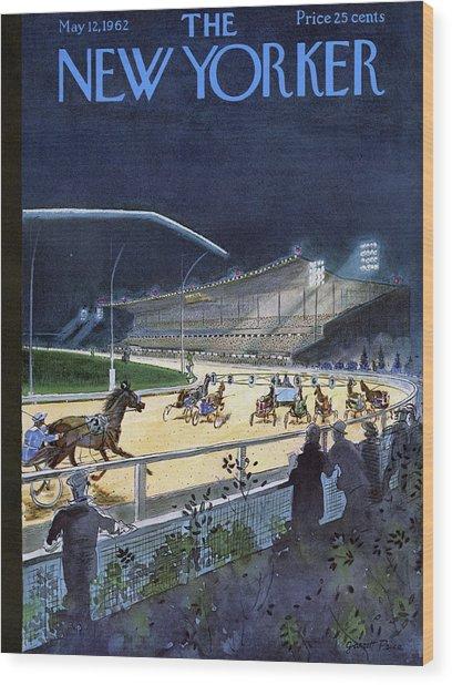New Yorker May 12 1962 Wood Print