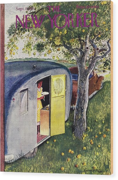 New Yorker September 15 1951 Wood Print