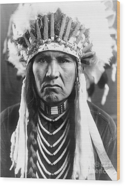Nez Perce Native American - To License For Professional Use Visit Granger.com Wood Print