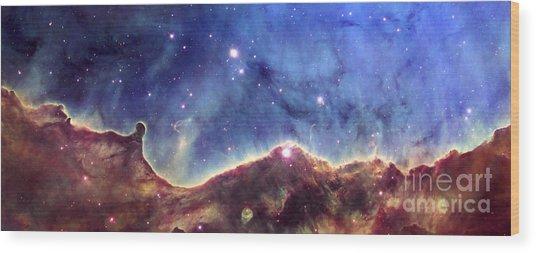 Ngc 3324  Carina Nebula Wood Print