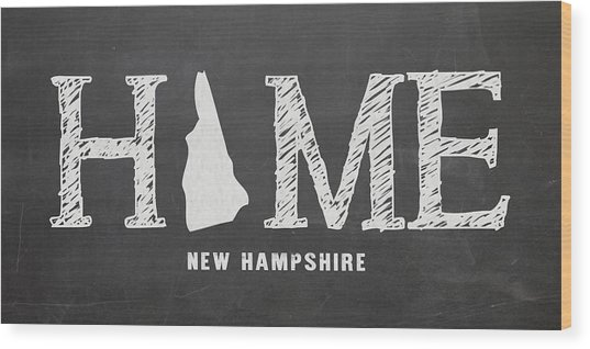 Nh Home Wood Print