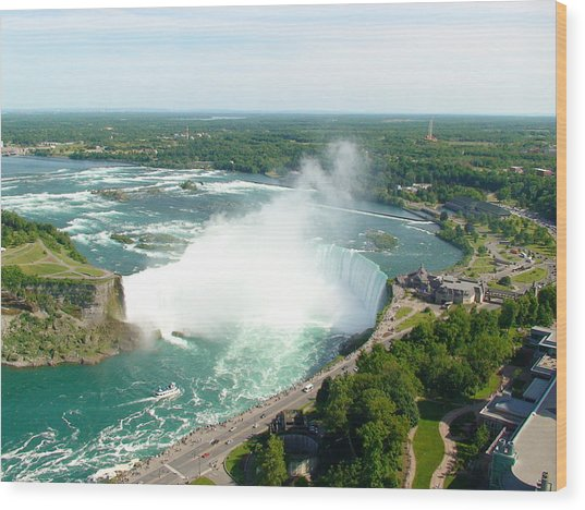 Niagara Falls Ontario Wood Print