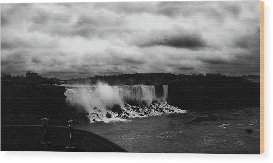 Niagara Falls - Small Falls Wood Print