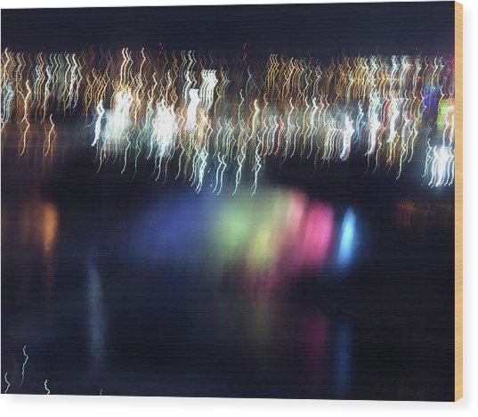 Light Paintings - Ascension Wood Print