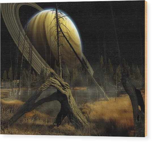 Nibiru Wood Print