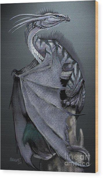 Nickel Dragon Wood Print