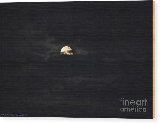 Night Moves 9 Wood Print