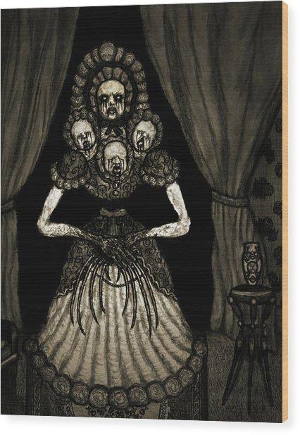 Nightmare Dolly - Artwork Wood Print