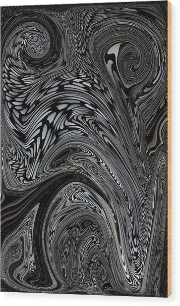 Nightmares Wood Print