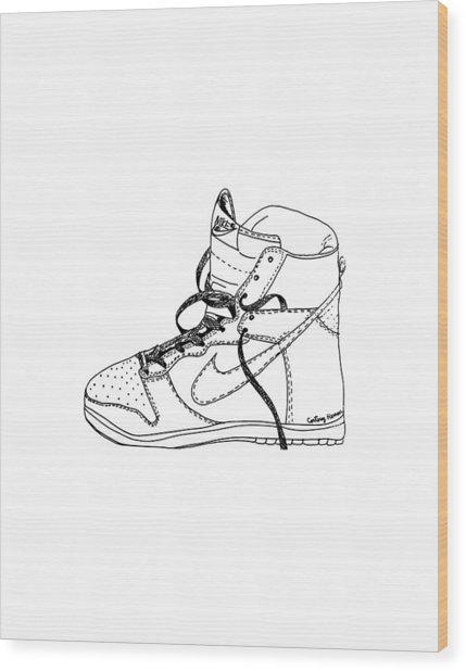 Nike Dunk 001 Wood Print