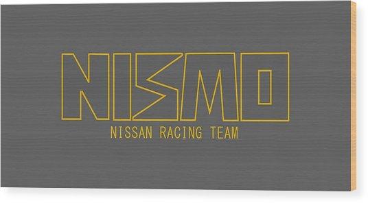 Nismo Wood Print