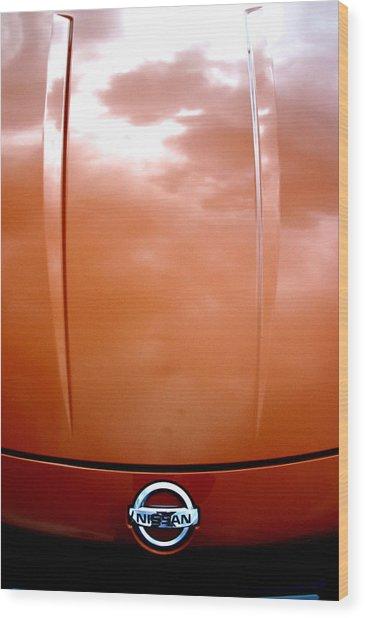 Nissan 11 Wood Print
