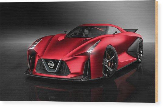 Nissan Concept 2020 Vision Gran Turismo Wood Print