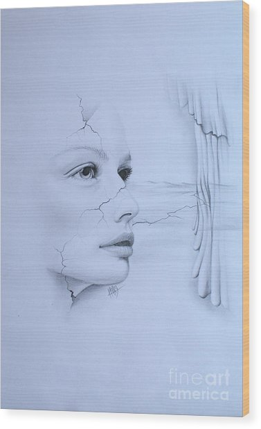 No Title Wood Print by Marek Halko