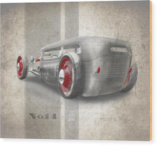 No.14 Wood Print