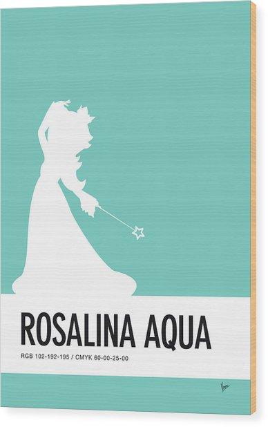 No39 My Minimal Color Code Poster Rosalina Wood Print