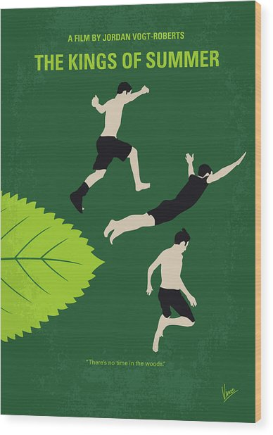 No865 My The Kings Of Summer Minimal Movie Poster Wood Print