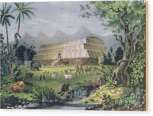 Noahs Ark Wood Print