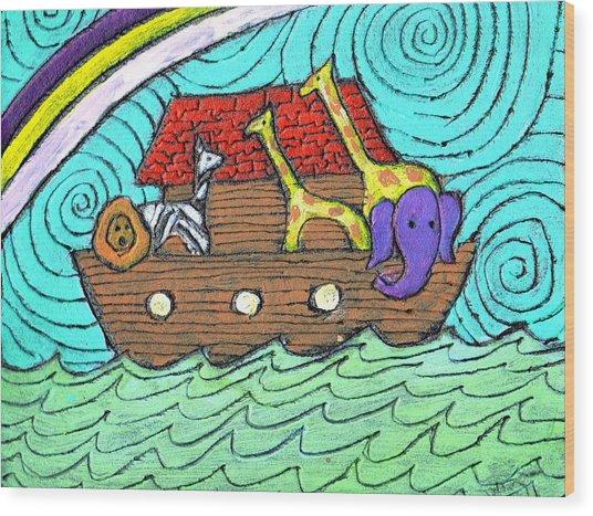 Noahs Ark Two Wood Print