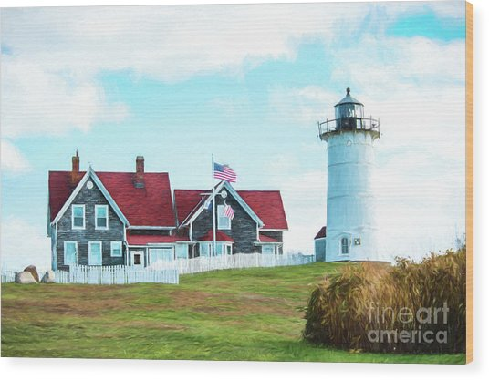 Nobska Light Wood Print