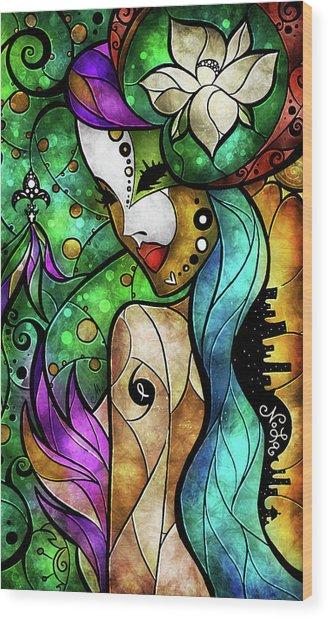 Nola Wood Print