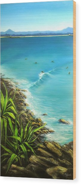 Noosa National Park Wood Print