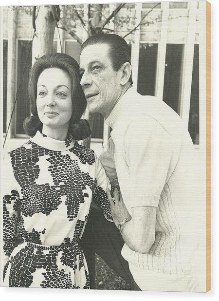 Norman Treigle And Linda Wood Print