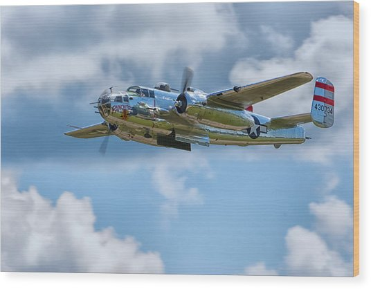 North American B-25 Mitchell Wood Print