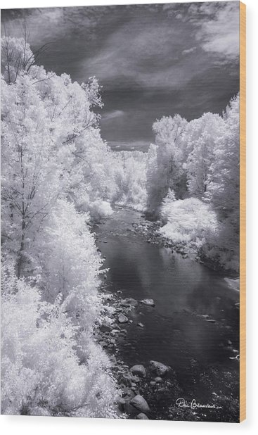 North Branch, Deerfield River 4657 Wood Print