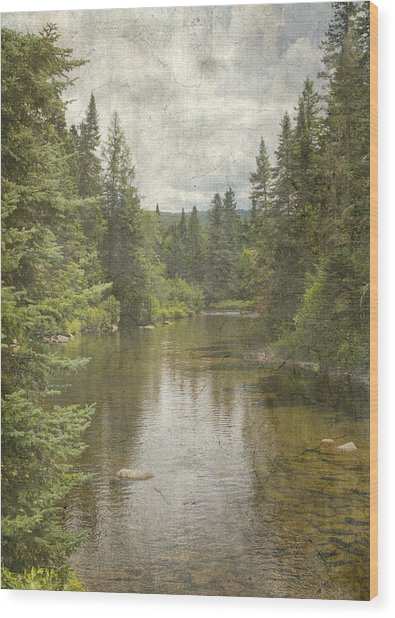North Country  Wood Print
