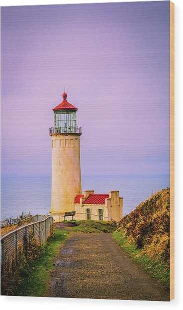 North Head Lighthouse Wood Print
