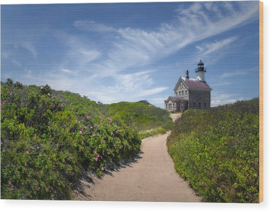 North Light Wood Print