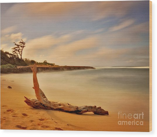 North Shore Oahu Hawaii  Wood Print